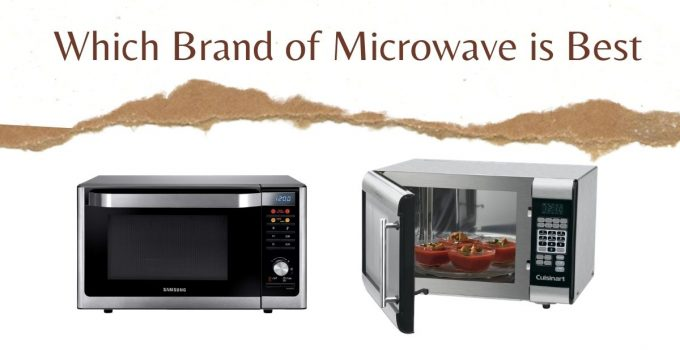 Which brand of microwave is best